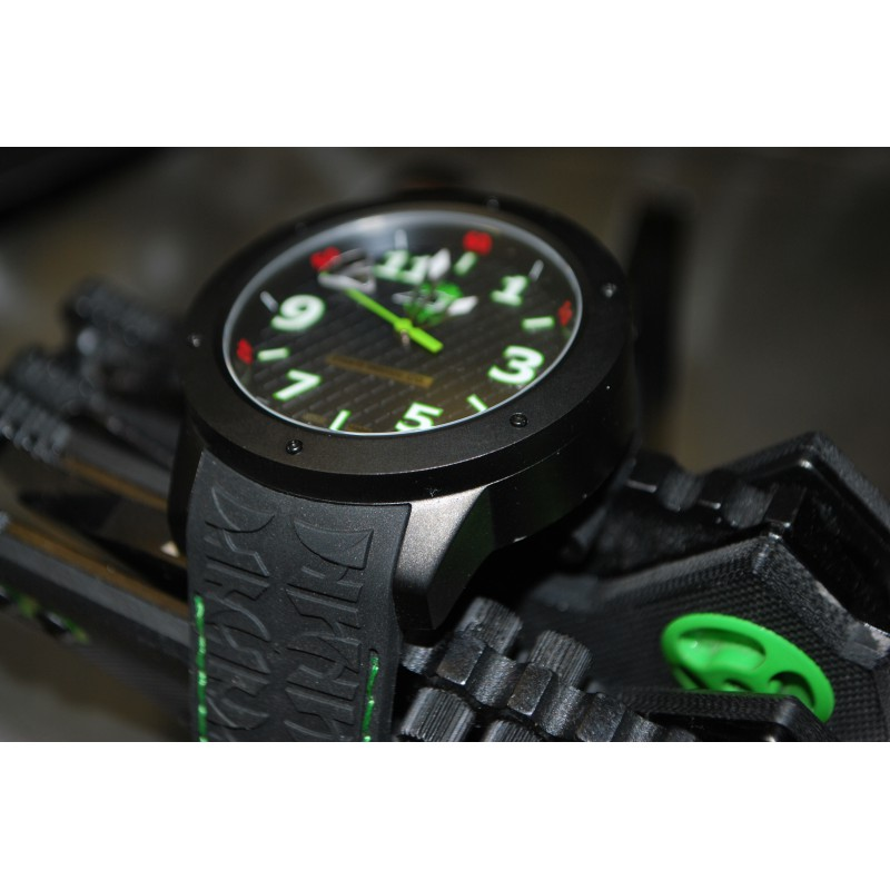 Trail Blade Edition Watch by Tire'd Watch Company - Black PVD